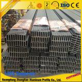 Aluminiumgefäß-rechteckige Aluminiumrohrleitung für das Aluminiumprofil hergestellt