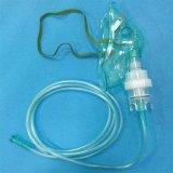 Máscara de oxígeno suave del suministro médico del PVC con el kit del nebulizador