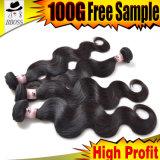 Wellen-Haar der Karosserien-100%Malaysian mit Qualität