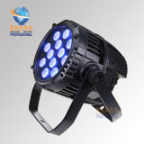 luz impermeable de la etapa de la luz LED de la arandela de la pared de la IGUALDAD 64 Light/LED de 12*10W 4in1 RGBW LED