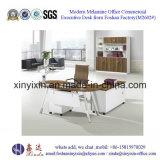 중국 공장 가격 MDF 멜라민 사무용 가구 책상 (D1615#)