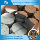 L'usine fournissent le cercle de l'acier inoxydable 202 la bonne qualité