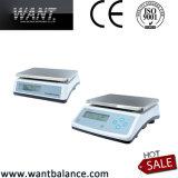 escalas de plataforma de 20kg 1g con la batería recargable