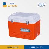 Das kühlere kühle Kasten-Eis trägt Kasten für Fischen
