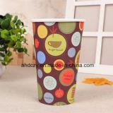 Кофейные чашки 12oz Anhui оптовые дешевые бумажные с крышками
