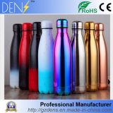 Commerce de gros en acier inoxydable avec isolation Engravable Cola gonflement en forme de bouteille d'eau