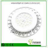 Luz de la bahía del panel industrial de la lámpara del aluminio IP65 del LED alta (fábrica/almacén)