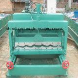 Schang-Hai ha ondulato il rullo delle mattonelle lustrato tetto che forma la macchina direttamente fornisce
