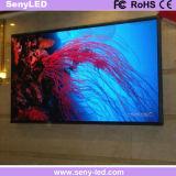 Visualización de LED a todo color interior para la publicidad video
