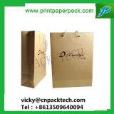 Saco de vinho personalizado Dom Kraft durável saco de papel