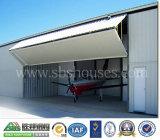 Edificio del hangar de la estructura de acero de Prefabricarted del bajo costo de la alta calidad