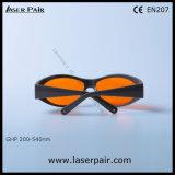 Высокий уровень защиты от 532нм зеленый лазер защитные очки с Laserpair