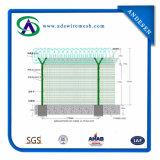 PVC покрыл загородку ячеистой сети обеспеченностью сваренную Electro