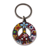 Marchio Keychain dell'automobile della medaglia di Keychain del ricordo di Keychain più poco costoso dell'acciaio inossidabile