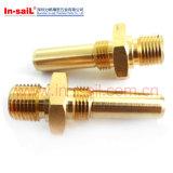 Pezzi meccanici di CNC dei prodotti di rame nel fornitore di Shenzhen