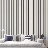 Brique et papier peint blanc de vinyle de PVC de piste pour la décoration à la maison