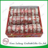 Verpakkende Lint van Kerstmis van het Punt van Kerstmis van de fonkeling het Poly Duidelijke