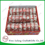 Sparkle Poly Item de Natal simples fita de embalagem de Natal