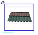 Конкурсные гофрированные металлические с покрытием из камня тип Nosen мозаики на крыше
