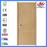 Дверь PVC панели изготовлений туалета деревянная
