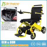 FDAが付いている携帯用軽量のブラシレス折る力の車椅子の電動車椅子