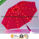 Neues Feld-erfinderischer gerader Kind-Regenschirm mit voller Solar-LED Lignts (LED-0019K)