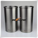 Moteur Diesel de pièces automobiles japonais 6He1 chemise de cylindre/manchon pour ISUZU 8-94391 avec OEM : 8-94391-601-0-600-0;