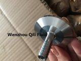 Farpa feita à máquina CNC inoxidável sanitária da mangueira do aço