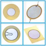 pellicole piezo-elettriche 30mm della ceramica di 35mm 27mm