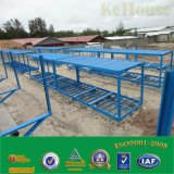 高品質は生存のために広く経済的な容器の家の鉄骨構造の組立て式に作られた容器のホームを使用する