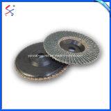 Pegado de resina tapa de disco abrasivo de esmerilado y pulido de metales