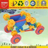Carro plástico do brinquedo da descarga das crianças