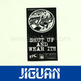Corte de papel T-shirt Impressão CMYK Hang Tag