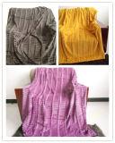 固体赤面させたPV Fwr毛布+北極の羊毛