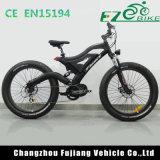 Bicyclette électrique de MI entraînement noir de Matt avec le moteur 1000W