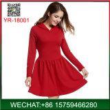 Customized를 위한 2018 새로운 Cheap Casual Long Sleeve Woman Dress