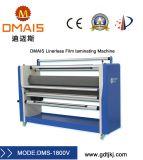 La película Linerless máquina laminadora de rodillos eléctrico industrial con cortador
