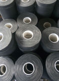 Le ruban adhésif de tissu d'isolation noire de coton se joint du fil et du câble