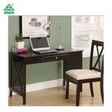 Стол сочинительства твердой древесины верхнего качества, стол компьютера с стулом
