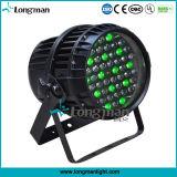 indicatore luminoso impermeabile chiaro della fase di PARITÀ di PARITÀ 54 RGBW LED di 54PCS*3W LED