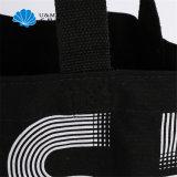 Стороны в полном объеме шелкографии печать логотипа черный мешок для полотенного транспортера