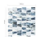 Gris de alta gama Mosaico vitrales para la Sala de estar Backsplash