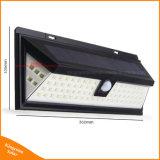 Lumière actionnée solaire extérieure de degré de sécurité de lampe de détecteur de mouvement de 80 DEL