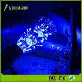 bulbo decorativo nostálgico claro azul estrelado do filamento do diodo emissor de luz de 3W E26 St64 para o Natal do casamento
