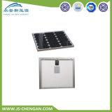 comitato solare del modulo solare monocristallino 30W con 4 righe e 25 anni di corso della vita