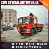 8*4 트럭에 의하여 거치되는 기중기, 16ton 이동할 수 있는 트럭 기중기, 판매를 위한 기중기를 가진 340HP 트럭