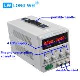 Rifornimento di corrente continua Registrabile del laboratorio del banco di PS-305df 0-30V/0-5A