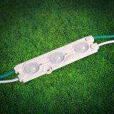 Módulo de inyección de LED con lentes ópticas, alto brillo, 160 grados de ángulo