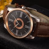 Geschäfts-Armbanduhr-Qualitäts-wasserdichte Quarz-Uhr der Mann-H377 für Männer