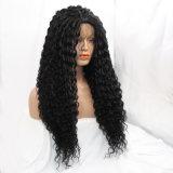 180 париков фронта шнурка плотности синтетических теплостойкGp для женщин